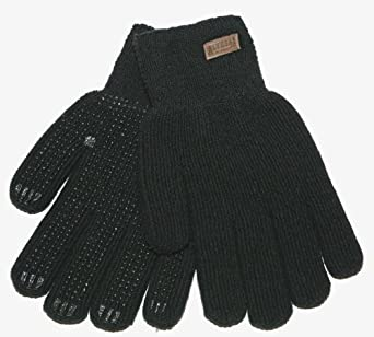 Kinco 5199 Alyeska Ragg Wool Acrylic Thermal Lined Full Finger Glove with PVC Dots, Work, Small, Black (Pack of 6 Pairs)
