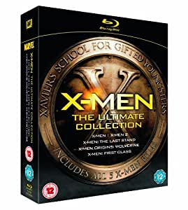 X-Men: The Ultimate Collection (X-Men / X2: X-Men United / X-Men: The Last Stand / X-Men Origins: Wolverine / X-Men: First Class) [Blu-ray]