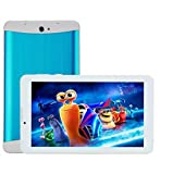 blue Metal 7'' Dual Core Dual SIM Unlocked Phone Tablet Android 4.2.2 Tablet Pc, Dual Camera, Hd 1024x600, 4gb, Google Play Pre-loaded, 3g+wi-fi Supported White 7 Inch Unlocked Smart Phone +Tablet='' Phablet'' Android 4.2 Gsm,t-mobile,h20,net10 3g Phone Tablet 2015 Newest 7 video review