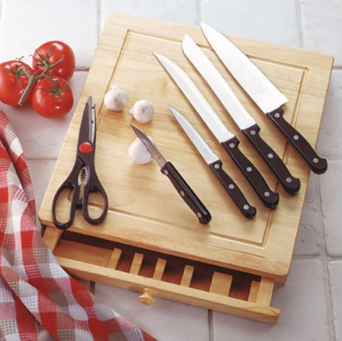 CUTTING BOARD KNIFE SET