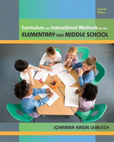 Curriculum and Instructional Methods for Elementary and...