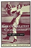 img - for Golf's Greatest Championship: The 1960 U.S. Open book / textbook / text book