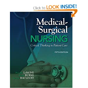 Medical Surgical Nursing Critical Thinking In Patient