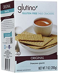 Glutino Table Crackers, 7 oz
