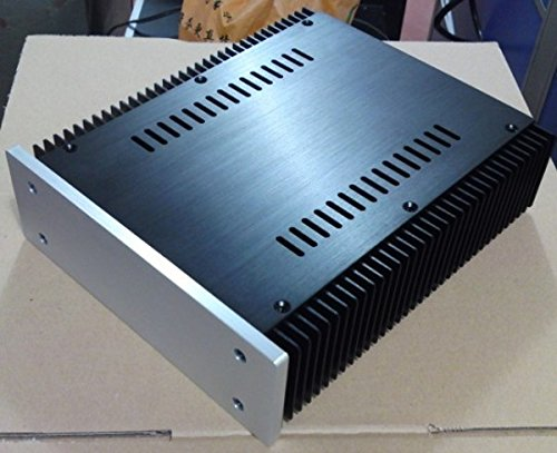 2107 Full Aluminum Power Amplifier Enclosure Headphone Amp Preamp Case Holder