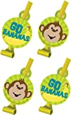 Creative Converting Monkeyin Around Birthday Party Blowouts