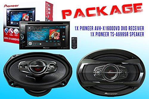 Package ! Pioneer Avh-X1600Dvd Dvd Receiver + Pioneer Ts-A6995R Car Speakers