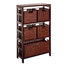bathroom shelves with baskets from target in wire wicker bathroom furniture. Black Bedroom Furniture Sets. Home Design Ideas