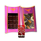 Chocholik Belgium Chocolate Gifts - Bittersweet Combo Of Chocolate Bars With 3d Mobile Cover For IPhone 6 - Diwali...