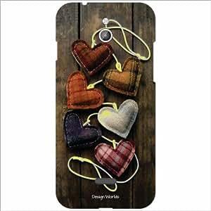 Design Worlds - InFocus M2 Designer Back Cover Case - Multicolor Phone Cover