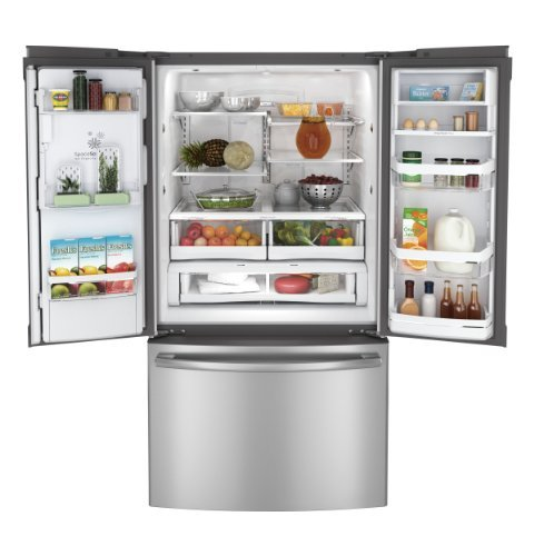 GE PFE29PSDSS Profile 28.6 Cu. Ft. Stainless Steel French Door Refrigerator - Energy Star (Ge Energy Star French Door compare prices)