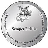 "U.S. Marine Corps Men's 0825HM06 ""Honor"" Stainless Steel Watch"