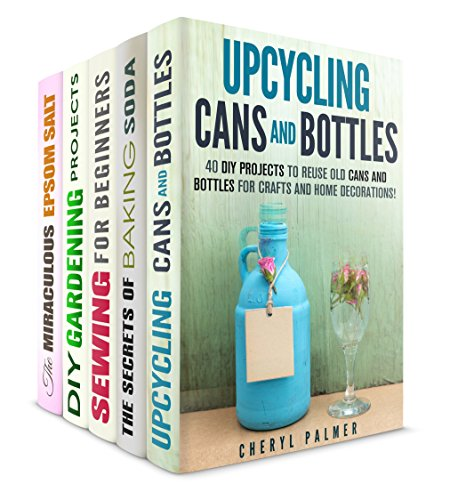 Borrow diy projects box set 5 in 1 upcycling baking Upcycling for beginners