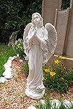 Großer In und Outdoor Engel 51 cm Angel Figur Gartenfigur