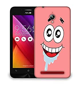 Snoogg After Ice cream in face Designer Protective Back Case Cover For Asus Zenfone GO