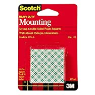 3M 111DC Scotch Mounting Squares-1