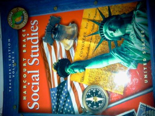 Harcourt Brace Social Studies Teacher's Edition Vol. 2 Grade 5