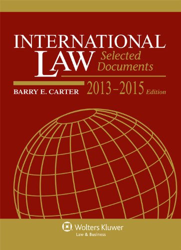 International Law: Selected Documents