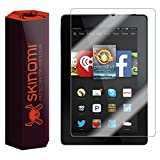 Skinomi® TechSkin - Amazon Fire HD 7 Screen Protector (2014) Premium HD Clear Film with Free Lifetime Replacement Warranty / Ultra High Definition Invisible and Anti-Bubble Crystal Shield - Retail Packaging