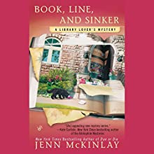 Book, Line, and Sinker: A Library Lover's Mystery (       UNABRIDGED) by Jenn McKinlay Narrated by Allyson Ryan