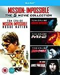 Mission Impossible 1-5 [Blu-ray] [Reg...