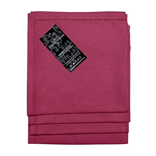 Homescapes servietten set 4 teilig bordeaux unifarben 45 x - Servietten dekorativ falten ...