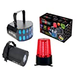 American DJ Supply LED Party Pak 2 LED Light System DJ Package