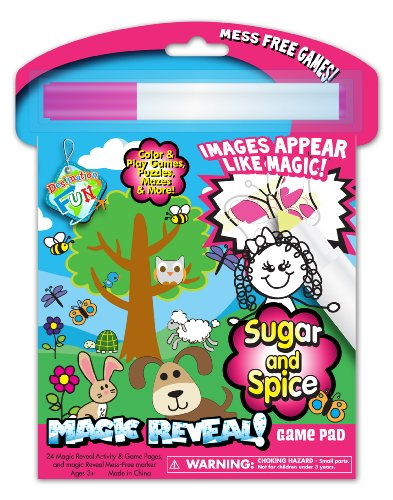 National Design Sugar And Spice Magic Reveal Activity Pad (12894A) front-686389