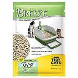 Tidy Cats Cat Litter, Breeze, Litter Pellet Refill, 7-Pound Refill, Pack of 4 (Misc.)