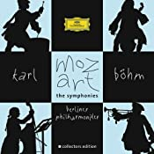 Amazon.com: Wolfgang Amadeus Mozart, Karl Bohm, Berlin Philharmonic Orchestra: Mozart: The Symphonies: Music