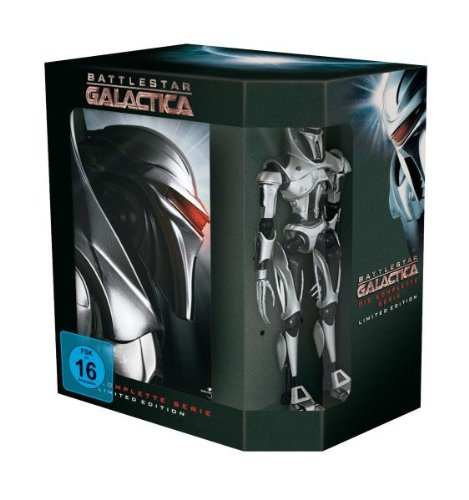 Battlestar Galactica Komplettbox (25 Disc) [Limited Edition] [25 DVDs]
