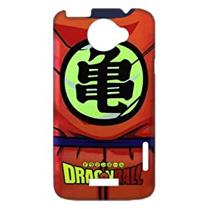 Classic Japanese Anime Dragon Ball Goku For HTC One X+ Durable Plastic Case-Creative New Life