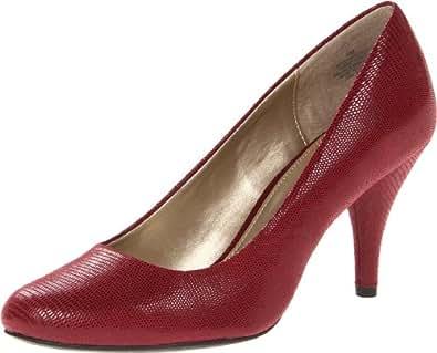 Amazon.com: Bandolino Women's Courteous FB Pump,Dark Red,7 ...