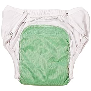 Reusable Washable Adult Diaper Briefs with Snaps from Benefit Wear