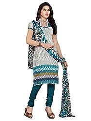 Jinal Fashion women's Cotton Unsitched dress material (Multi_color)