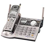 Panasonic GigaRange KX-TG5571M 5.8 GHz DSS Expandable Cordless Phone with Answering System and Talking Caller ID (Metallic Grey)