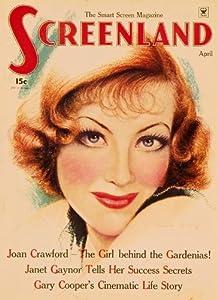 Amazon.com: Joan Crawford Poster Movie Screenland Magazine Cover 1920