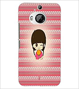 Printdhaba Cartoon D-3314 Back Case Cover For Htc One M9 Plus