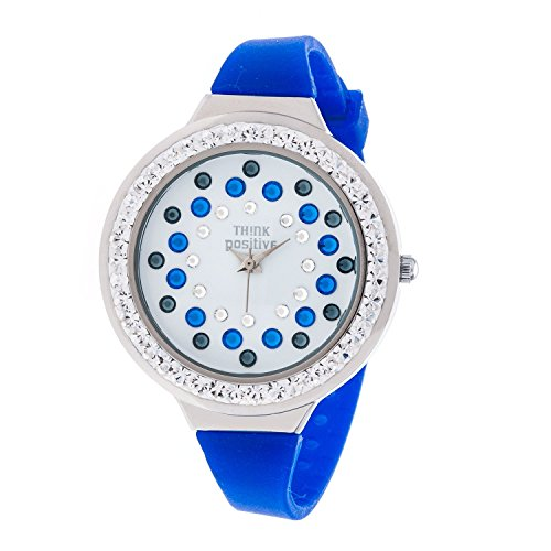 ladies-think-positiver-modell-se-w116a-star-dust-tunnel-medium-stahlband-silikon-farbe-blau