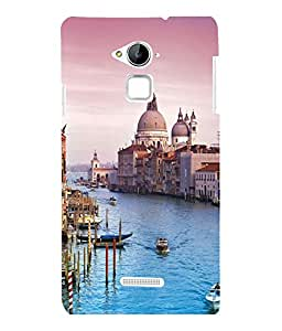 printtech Italy Sea Building Dome Back Case Cover for Coolpad Note 3 Lite