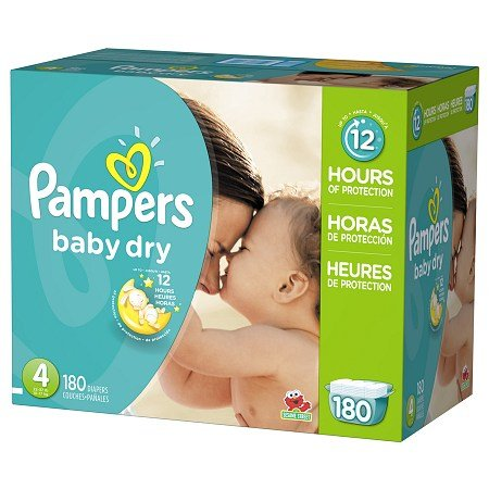 Pampers Size 4 Diapers