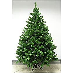 BKS Artificial Christmas Tree (Green 6 Feet tall) ...