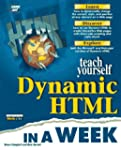 Sams Teach Yourself Dynamic HTML in a...