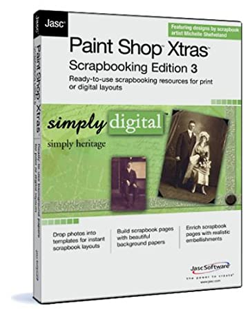 Paint Shop Xtras Scrapbooking Edition 3  Simply Heritage
