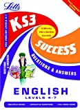 KS3 English Q&A Success Guides: Levels 4-7 (Key Stage 3 Success Guides Questions & Answers)