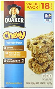Quaker Chewy Granola Bars Variety Pack, 15.2 Ounce