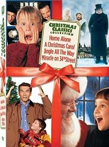 Christmas Classics Box Set (Miracle on 34th Street / Jingle All the Way / Home Alone / A Christmas Carol)