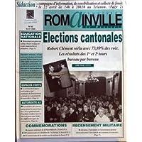 ROMAINVILLE [No 48] du 01/04/1998 - SIDACTION - CAMPAGNE D'INFORMATION DE SENSIBILISATION ET COLLECTE DE FONDS...