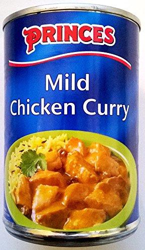Princes Mild Curry de poulet 3 x 400gm