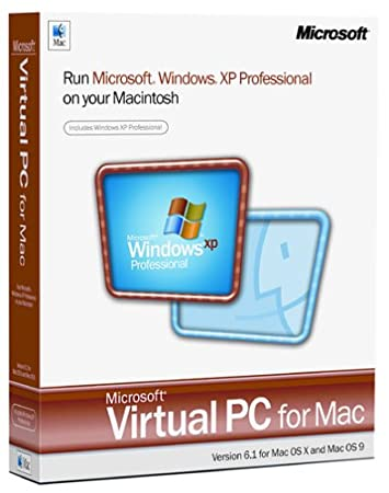 Microsoft Virtual PC for Mac 6.1 with Windows XP Pro [Old Version]